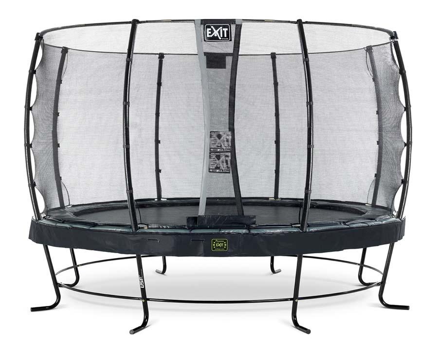 EXIT Elegant trampoline zwart